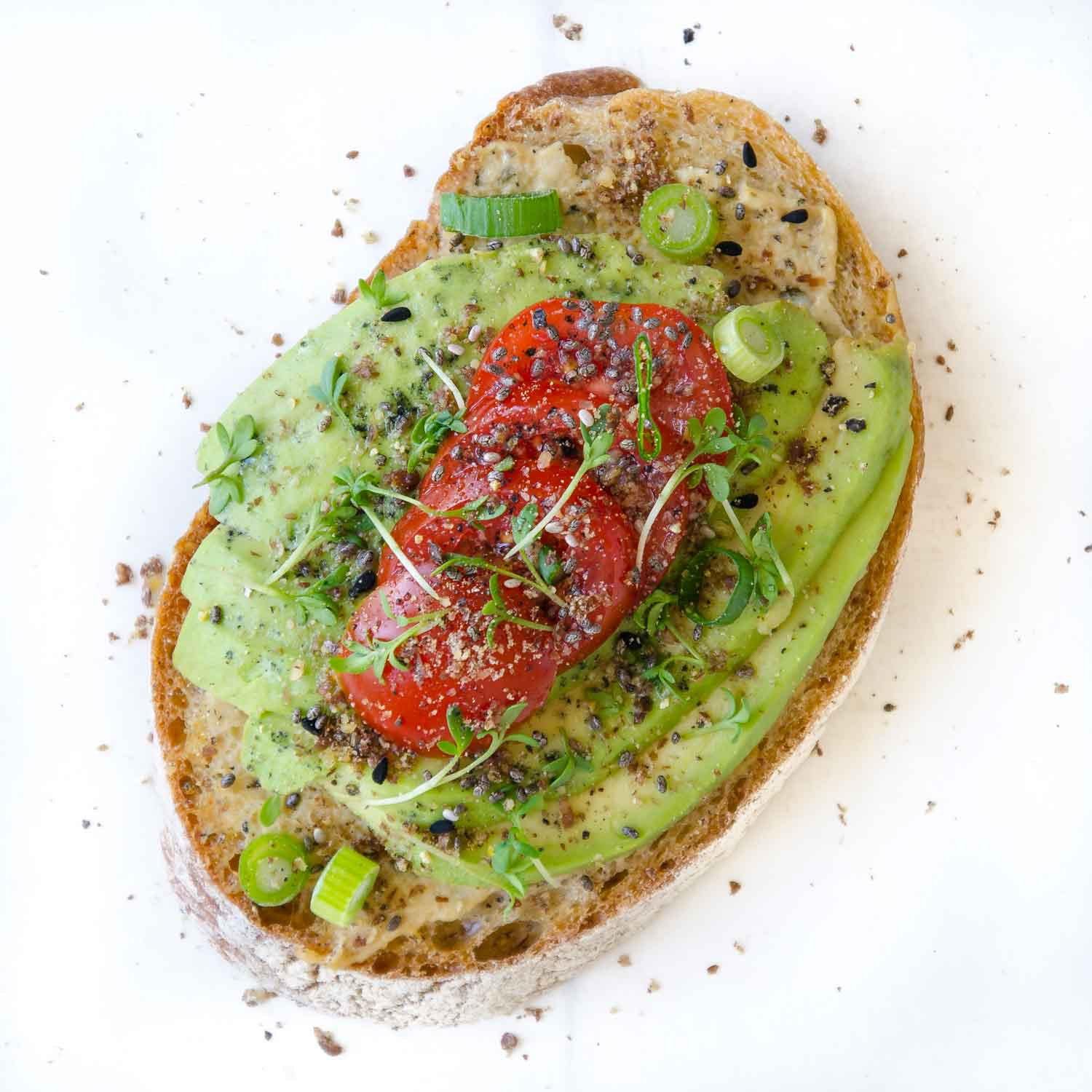 Avocado-Brot