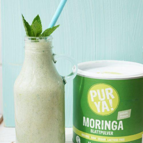 Moringa-Minz-Shake
