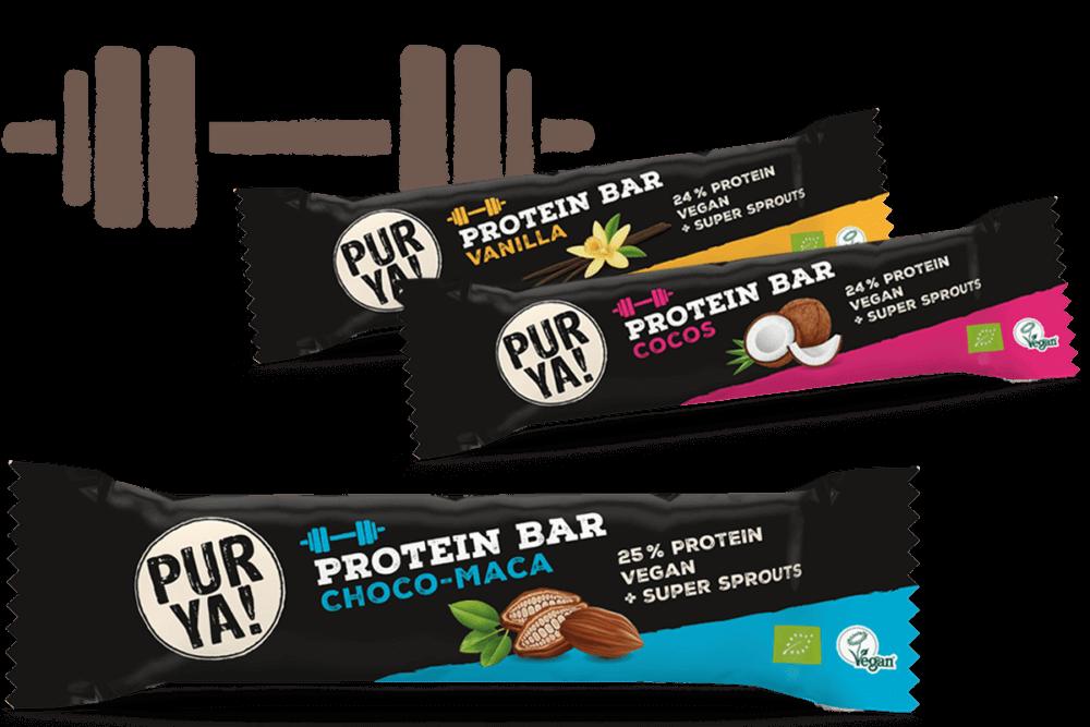 Teaserimage PURYA Protein Bar