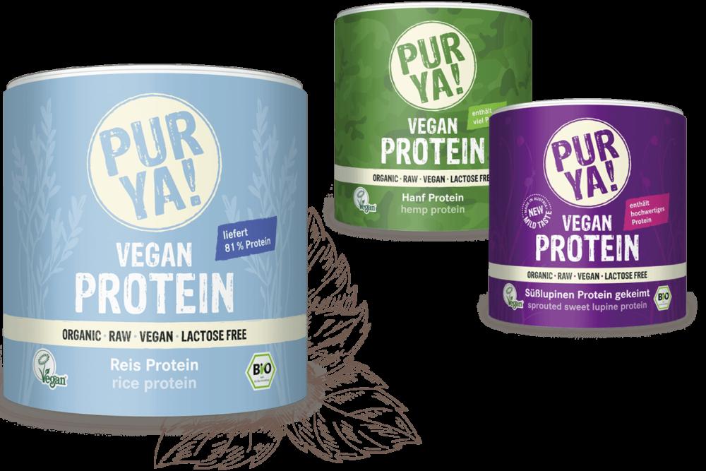 Teaserimage PURYA Vegan Protein