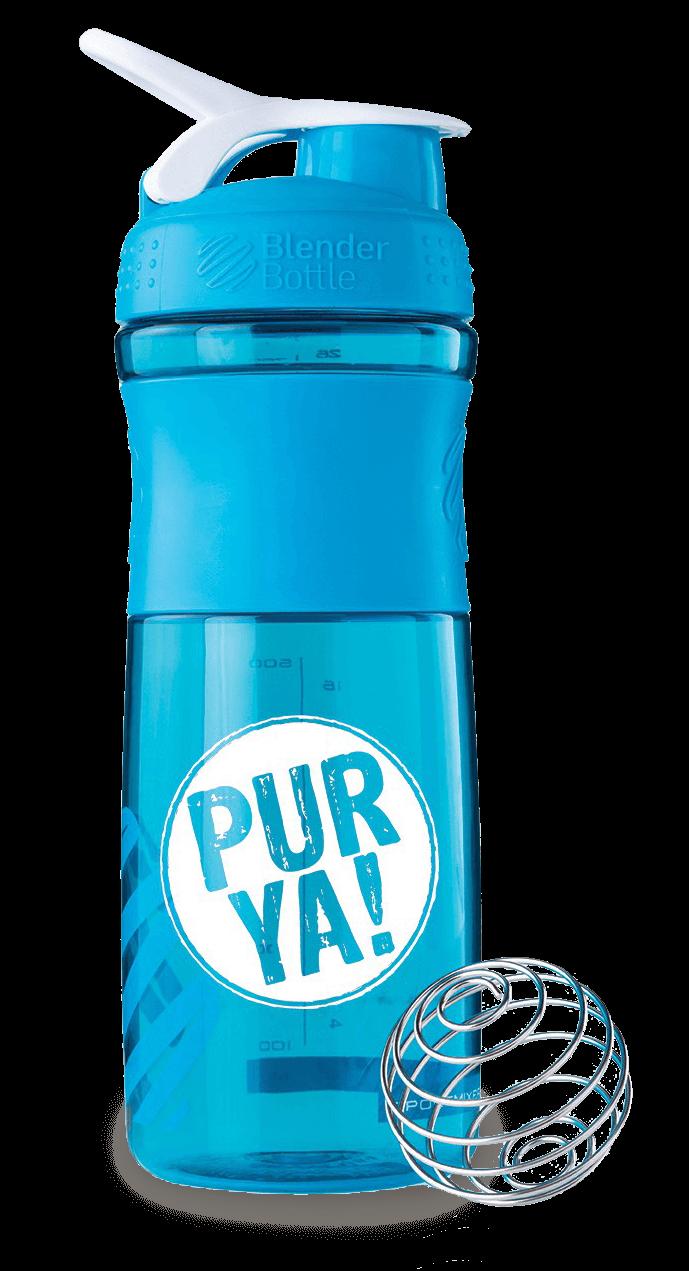 PURYA Shaker aqua