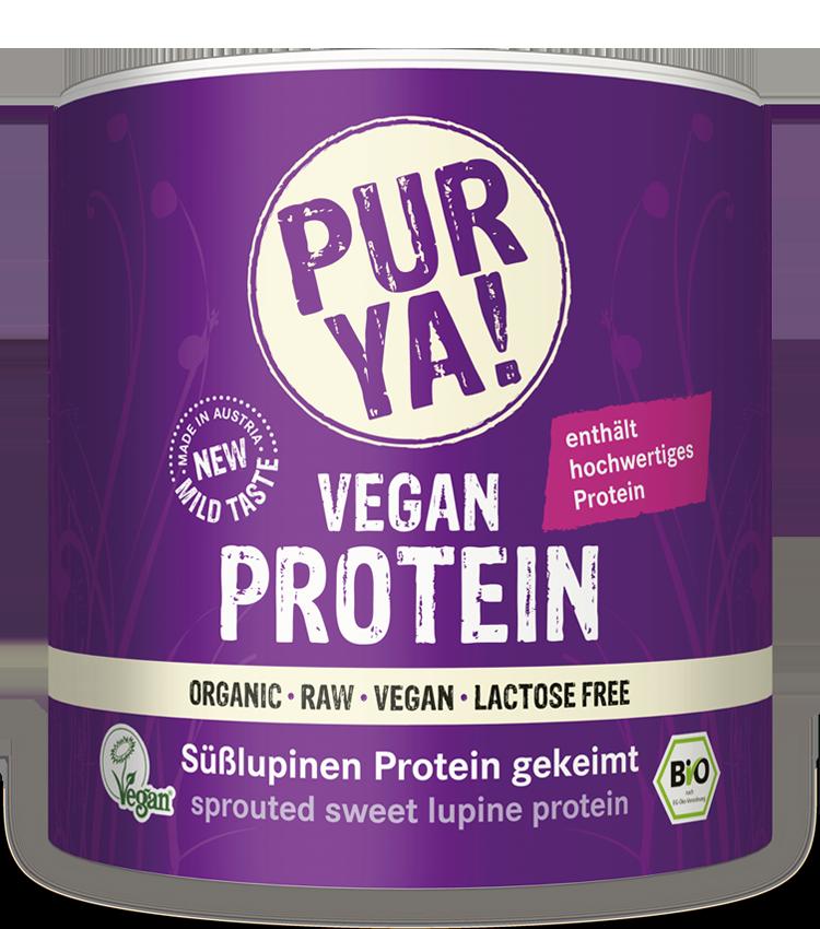 PURYA Vegan Protein Süßlupinen gekeimt