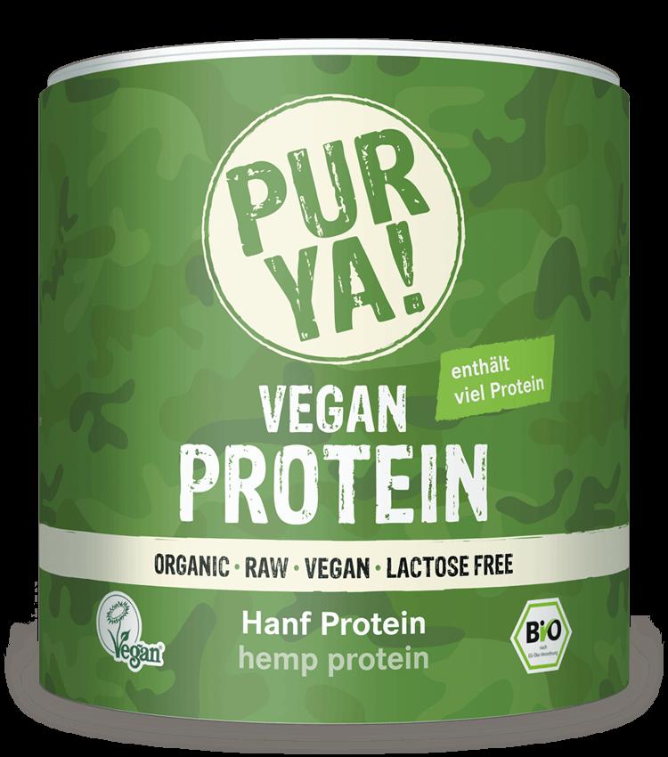 PURYA Vegan Protein Hanf Protein