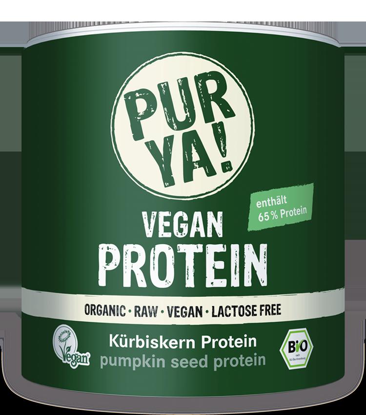 PURYA Vegan Protein Kürbiskern Protein