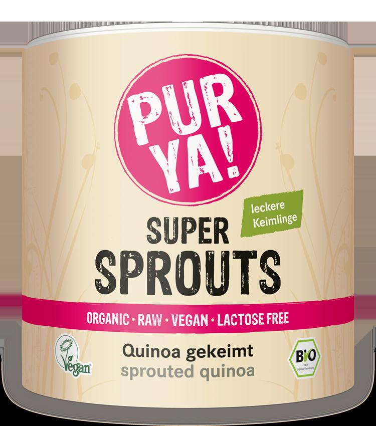 PURYA Super Sprouts Quinoa gekeimt