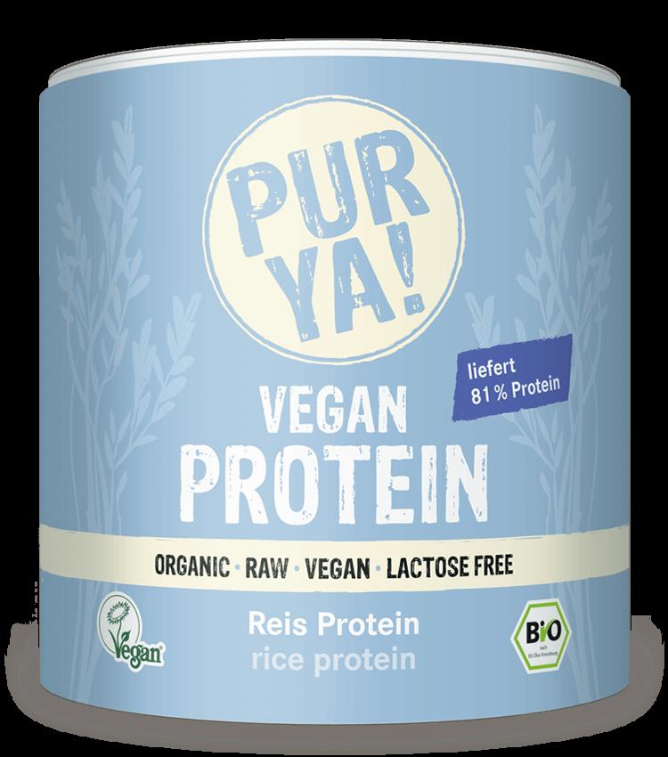 PURYA Vegan Protein Reis Protein