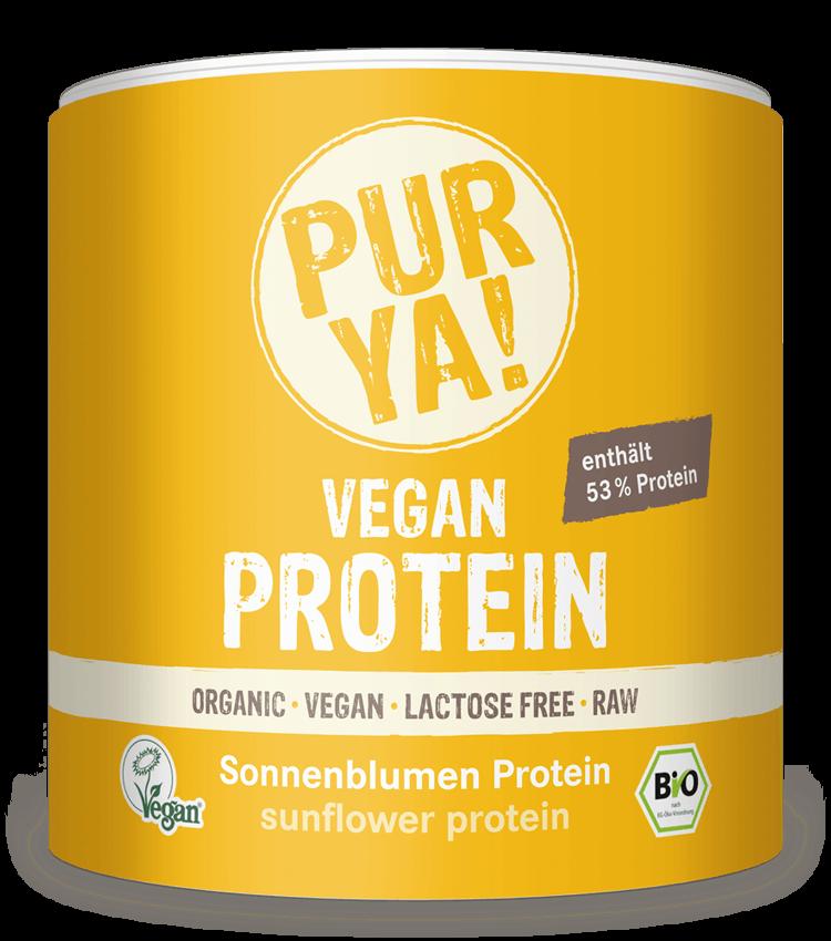 PURYA Vegan Protein Sonnenblumen Protein
