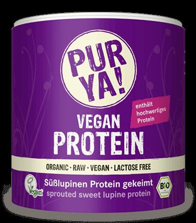 Süßlupinen Protein gekeimt