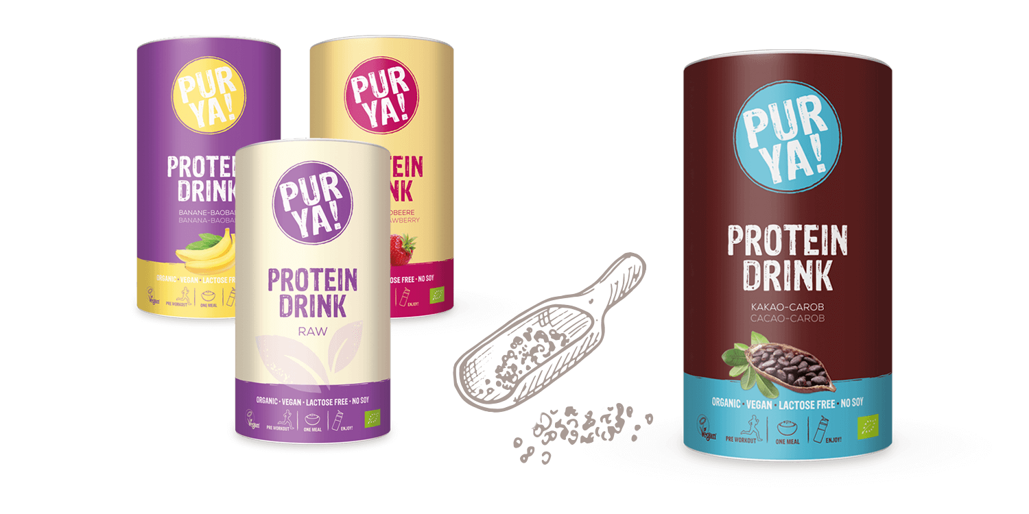 PURYA Vegan Protein Drinks