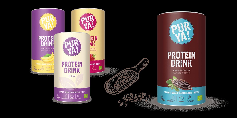PURYA Vegan Protein Drinks