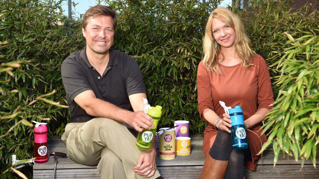 PURYA Die Gründer Timo Lehnert und Britta Lehnert